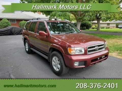 2001 Nissan Pathfinder for sale at HALLMARK MOTORS LLC in Boise ID