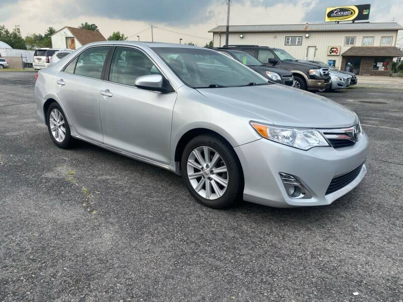 2012 Toyota Camry for sale at Riverside Auto Sales & Service in Portland ME