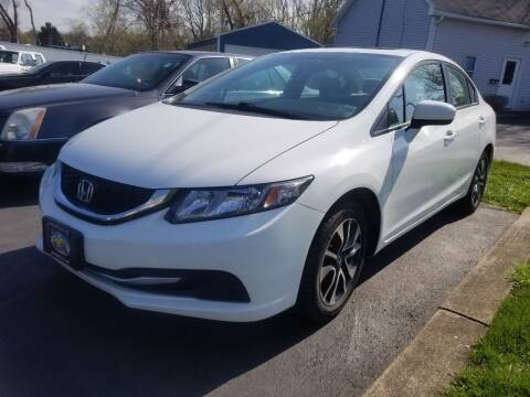 2014 Honda Civic for sale at Great Lakes Classic Cars & Detail Shop in Hilton NY