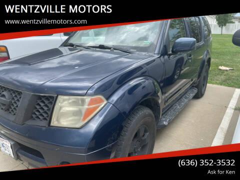 2006 Nissan Pathfinder for sale at WENTZVILLE MOTORS in Wentzville MO