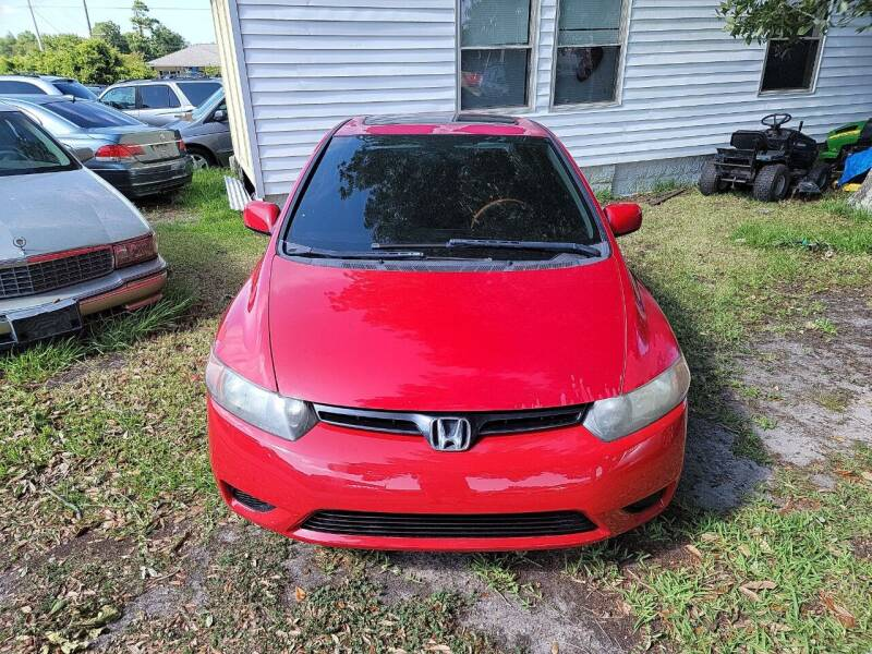 2007 Honda Civic for sale at Wally's Cars ,LLC. in Morehead City NC
