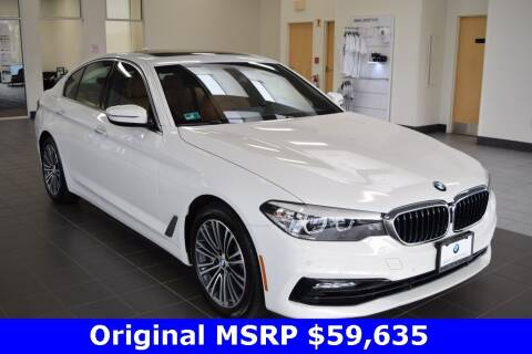 2018 BMW 5 Series for sale at BMW OF NEWPORT in Middletown RI