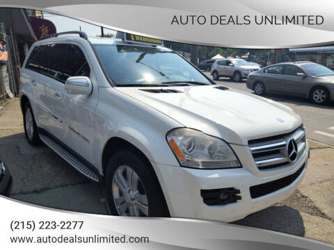 2009 Mercedes-Benz GL-Class for sale at AUTO DEALS UNLIMITED in Philadelphia PA