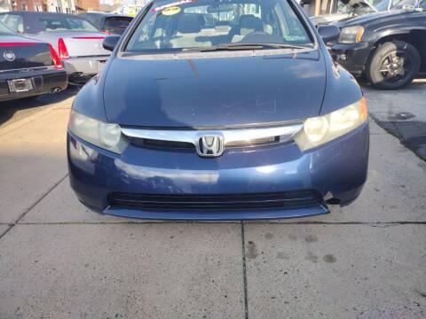 2007 Honda Civic for sale at K J AUTO SALES in Philadelphia PA