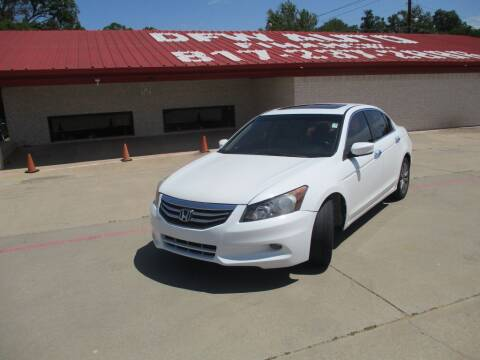 2012 Honda Accord for sale at DFW Auto Leader in Lake Worth TX
