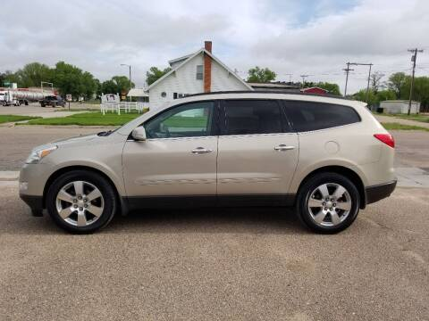 2011 Chevrolet Traverse for sale at Faw Motor Co in Cambridge NE