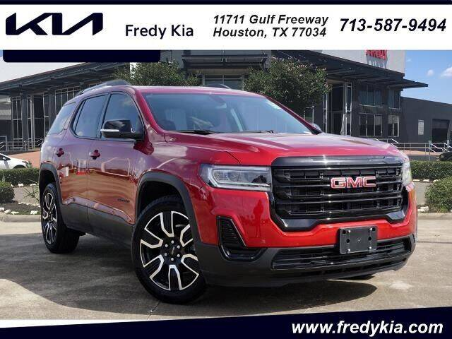 2021 GMC Acadia for sale at FREDY KIA USED CARS in Houston TX