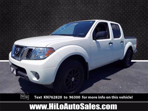2019 Nissan Frontier for sale at Hi-Lo Auto Sales in Frederick MD