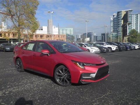 2021 Toyota Corolla for sale at BEAMAN TOYOTA GMC BUICK in Nashville TN
