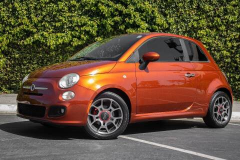 2012 FIAT 500 for sale at 605 Auto  Inc. in Bellflower CA