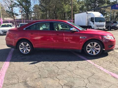 2010 Ford Taurus for sale at Fast and Friendly Auto Sales LLC in Decatur GA