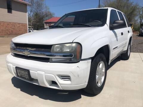 2002 Chevrolet TrailBlazer for sale at Wolff Auto Sales in Clarksville TN