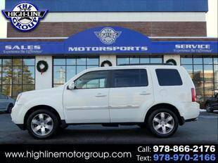 2013 Honda Pilot for sale at Highline Group Motorsports in Lowell MA