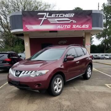 2009 Nissan Murano for sale at Fletcher Auto Sales in Augusta GA