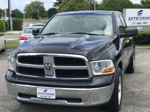 2011 RAM Ram Pickup 1500 for sale at Auto Union LLC in Virginia Beach VA