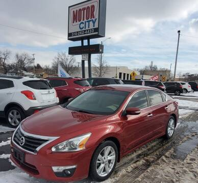 2014 Nissan Altima for sale at Motor City Sales in Wichita KS