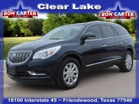2015 Buick Enclave for sale at Ron Carter  Clear Lake Used Cars in Houston TX