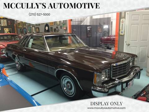 1977 Ford Granada for sale at McCully's Automotive - Classic Cars in Benton KY