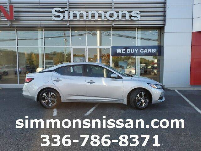 2021 Nissan Sentra for sale in Mount Airy, NC