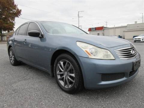 2009 Infiniti G37 Sedan for sale at Cam Automotive LLC in Lancaster PA
