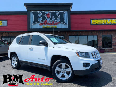 2016 Jeep Compass for sale at B & M Auto Sales Inc. in Oak Forest IL