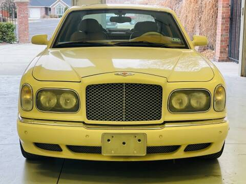 2001 Bentley Arnage for sale at Avanesyan Motors in Orem UT