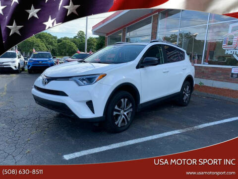 2016 Toyota RAV4 for sale at USA Motor Sport inc in Marlborough MA