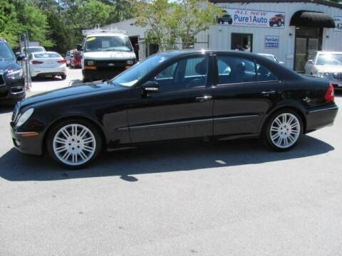 2007 Mercedes-Benz E-Class for sale at Pure 1 Auto in New Bern NC