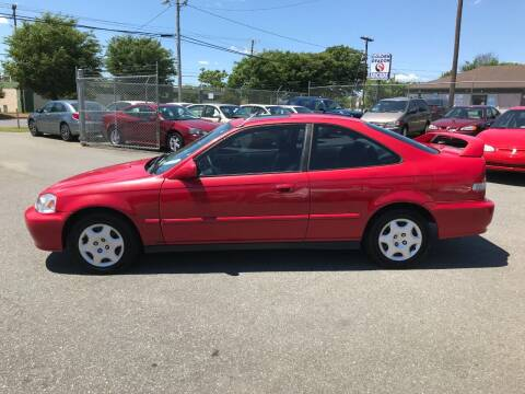2000 Honda Civic for sale at Mike's Auto Sales of Charlotte in Charlotte NC