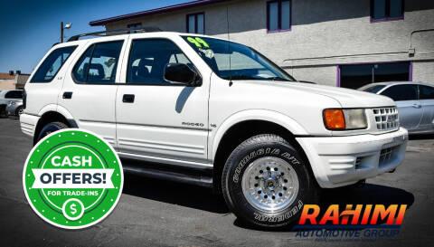 1999 Isuzu Rodeo for sale at Rahimi Automotive Group in Yuma AZ