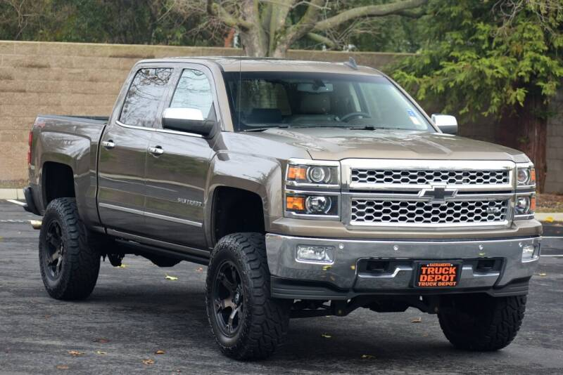 2015 Chevrolet Silverado 1500 for sale at Sac Truck Depot in Sacramento CA