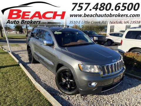 2011 Jeep Grand Cherokee for sale at Beach Auto Brokers in Norfolk VA