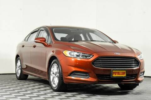 2014 Ford Fusion for sale at Washington Auto Credit in Puyallup WA