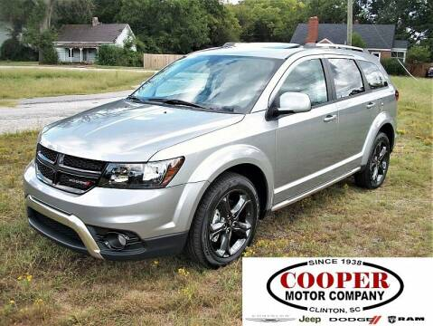 2020 Dodge Journey for sale at Cooper Motor Company in Clinton SC
