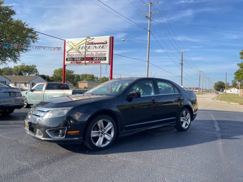 2010 Ford Fusion for sale at DiGiovanni's Xtreme Auto & Cycle Sales in Machesney Park IL