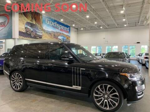 2015 Land Rover Range Rover for sale at Godspeed Motors in Charlotte NC