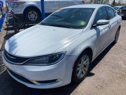 2016 Chrysler 200 for sale at Nations Auto Inc. II in Denver CO