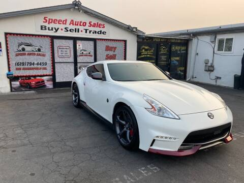 2014 Nissan 370Z for sale at Speed Auto Sales in El Cajon CA