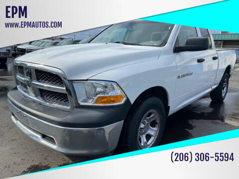 2011 RAM Ram Pickup 1500 for sale at EPM in Auburn WA