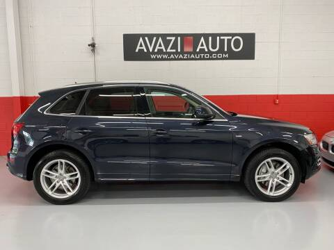 2014 Audi Q5 for sale at AVAZI AUTO GROUP LLC in Gaithersburg MD