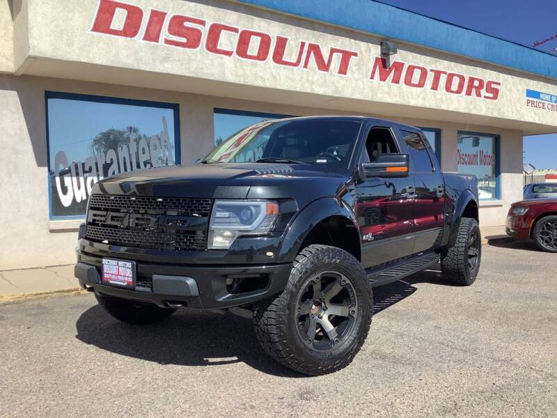 2014 Ford F-150 for sale at Discount Motors in Pueblo CO