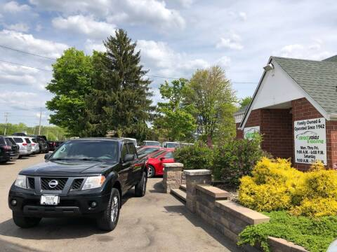 2012 Nissan Frontier for sale at Direct Sales & Leasing in Youngstown OH