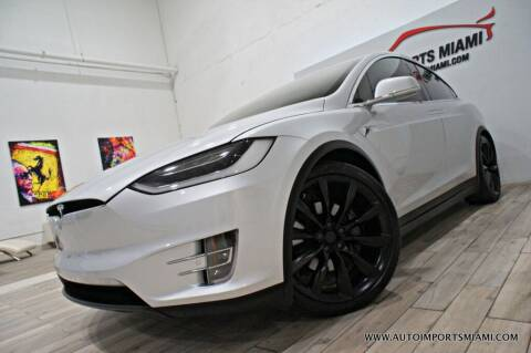 2018 Tesla Model X for sale at AUTO IMPORTS MIAMI in Fort Lauderdale FL