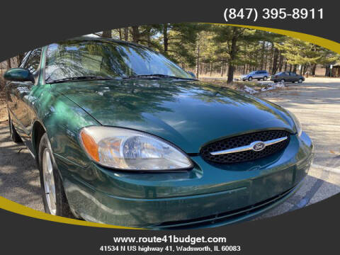 2000 Ford Taurus for sale at Route 41 Budget Auto in Wadsworth IL