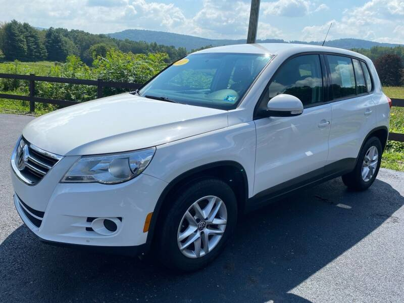 2011 Volkswagen Tiguan for sale at Pine Grove Auto Sales LLC in Russell PA