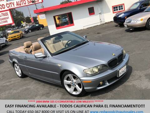 2004 BMW 3 Series for sale at Redwood City Auto Sales in Redwood City CA
