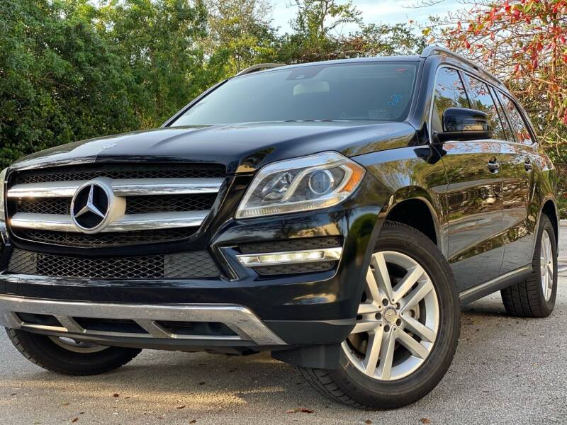 2014 Mercedes-Benz GL-Class for sale at HIGH PERFORMANCE MOTORS in Hollywood FL