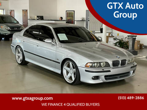 2001 BMW M5 for sale at GTX Auto Group in West Chester OH