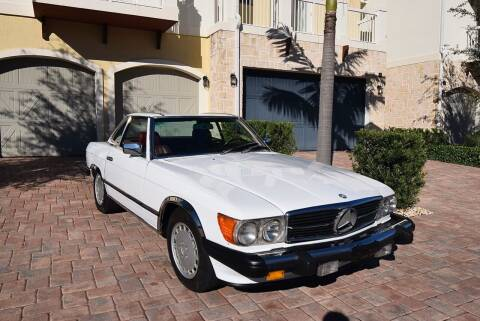 1986 Mercedes-Benz 560-Class for sale at Sunshine Classics, LLC in Boca Raton FL