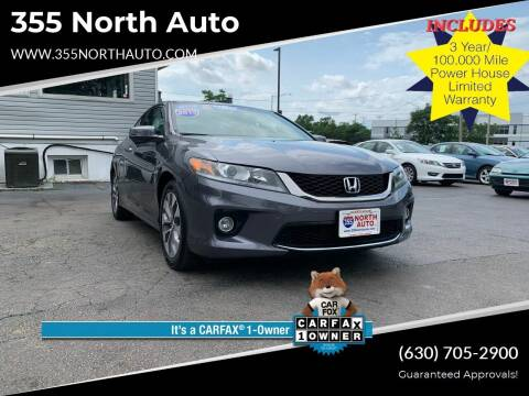 2013 Honda Accord for sale at 355 North Auto in Lombard IL